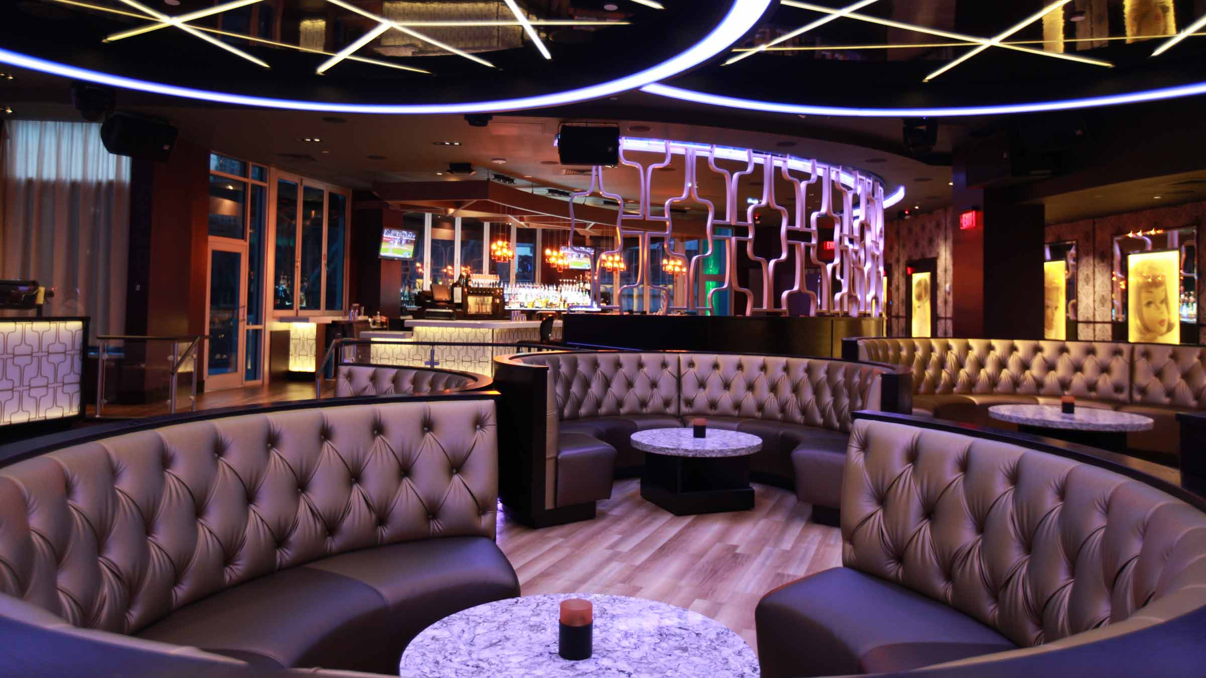 Restaurant hotel nightclub design by bigtime design for Lounge pictures designs